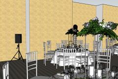 Бальный зал Ritz Carlton