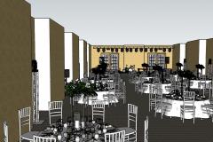Ritz-Carlton Бальный зал в 3D