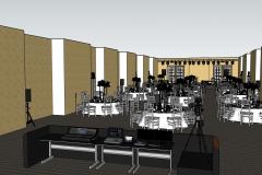 Ritz Carlton Бальный зал 3D