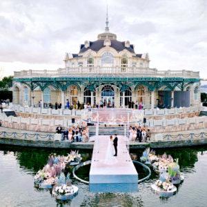 Свадьба в ресторане Вилла Ротонда